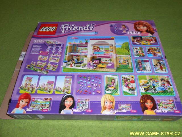 Lego Friends 3315 obal