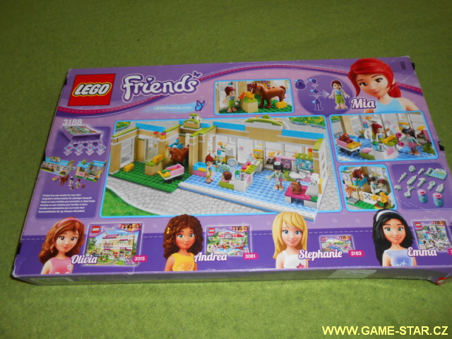 Lego Friends 3188 obal 1