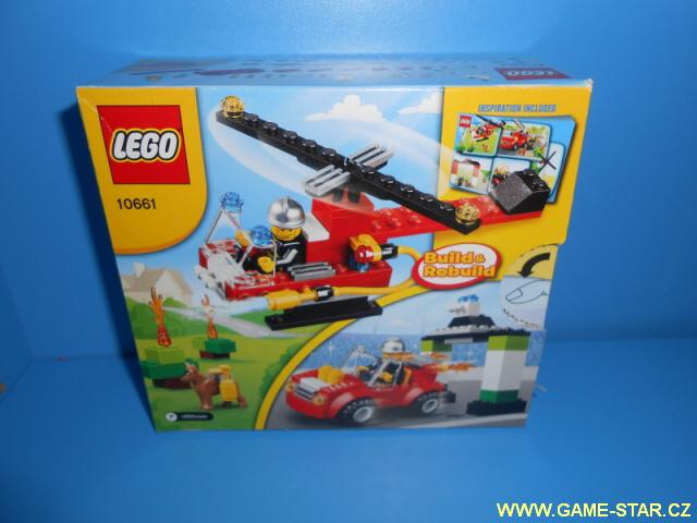 Lego 10661 vrtulník