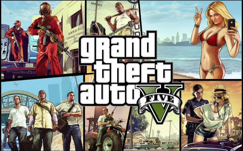 Grand Theft Auto V – nejlepší hra roku 2013