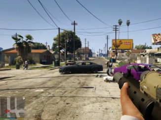 gta 5 first person