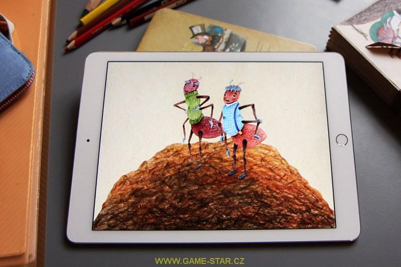 chrobákovy trampoty tablet