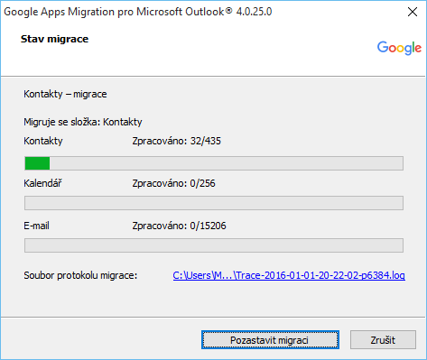 outlook pst gmail migrace 8
