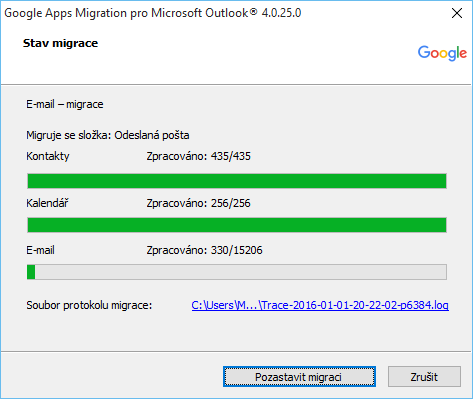 outlook pst gmail migrace 9