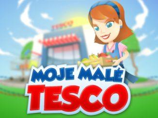 Moje malé Tesco mobilní hra