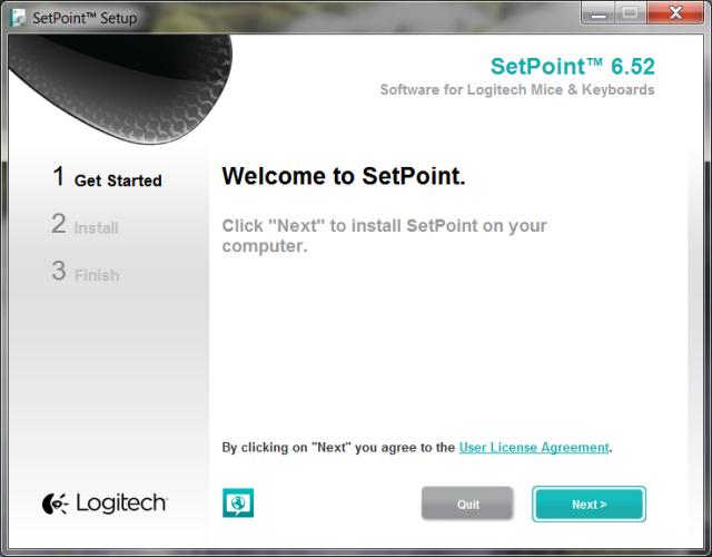 logitech setpoint 1