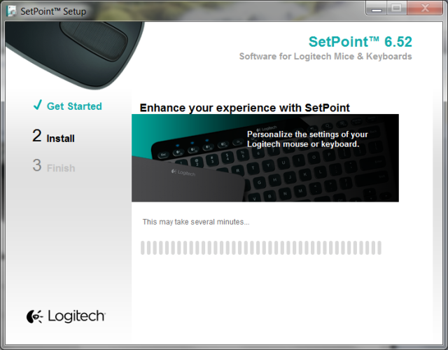 logitech setpoint 2