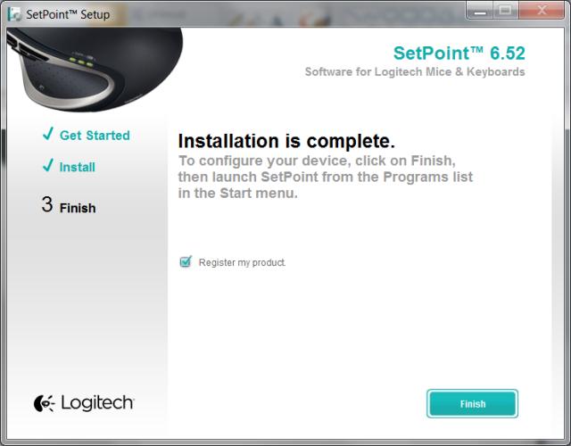 logitech setpoint 3