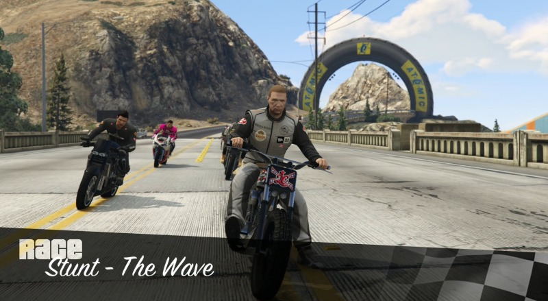 gta 5 online stunt the wave