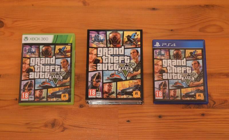 GTA V na PC, Xbox 360 a PS4