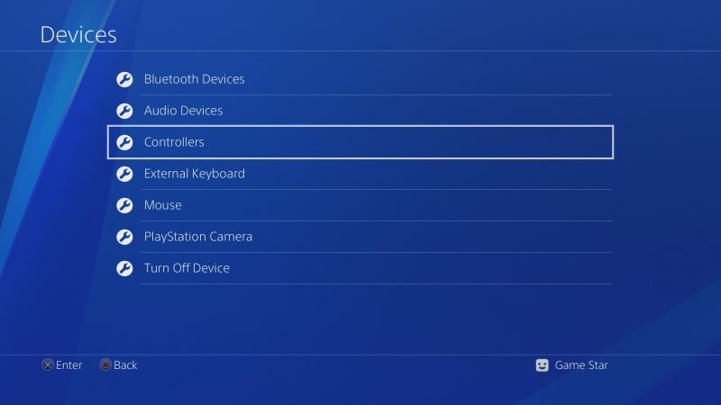 PS4 ovladač nastavení 2