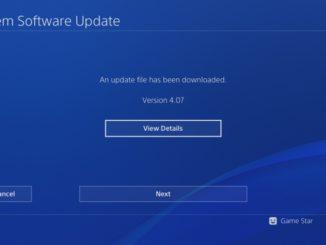 ps4 update 407 - 1