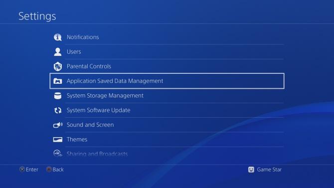 PS4 záloha