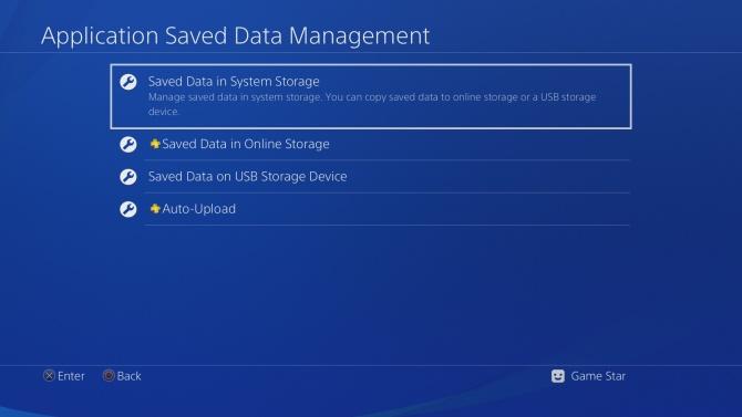 PS4 záloha 2