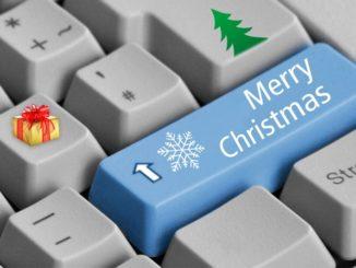 vánoční klávesnice