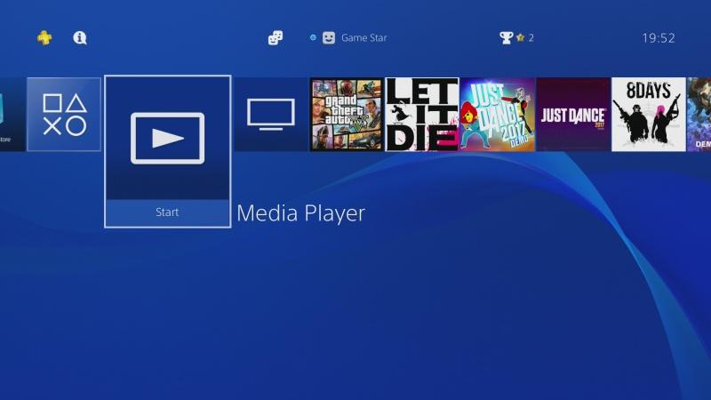 Jak přehrát filmy na PS4 z USB disku
