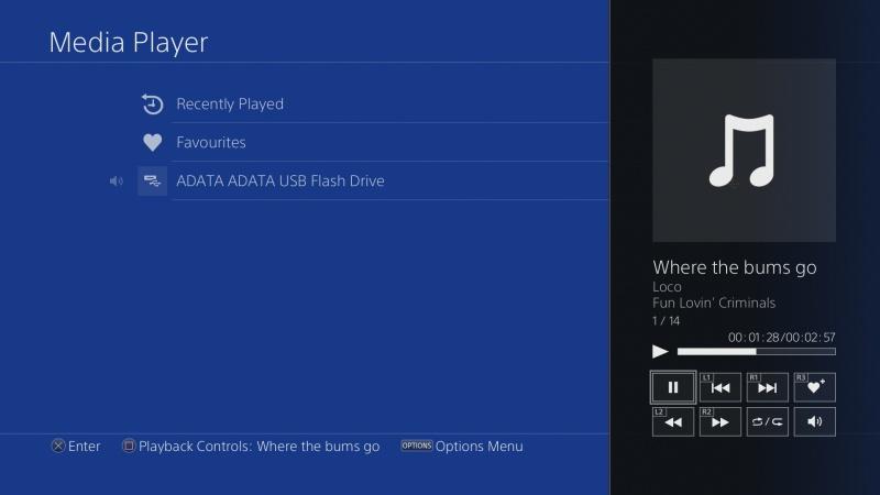 Jak přehrát filmy na PS4 z USB disku3