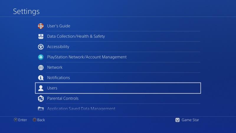 Jak založit účet PS4 pro dalšího uživatele 6