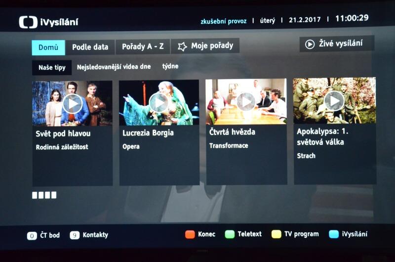 HbbTv Česká televize 2