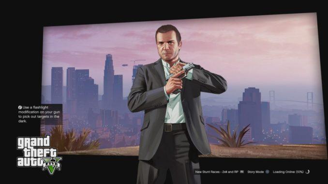 Jak hrát GTA 5 online na PS4 2