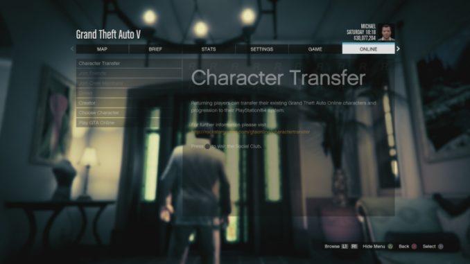 Jak hrát GTA 5 online na PS4 3