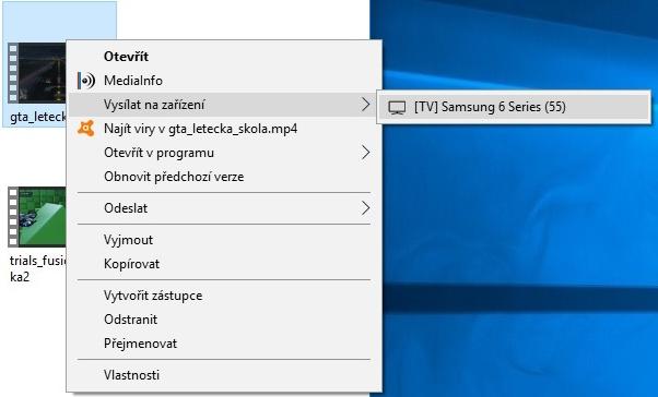 Přehrávání filmů z PC na Smart TV Samsung
