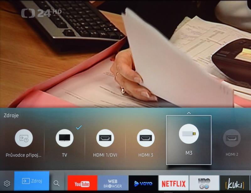 Jak smazat nahrané pořady v televizi Samsung