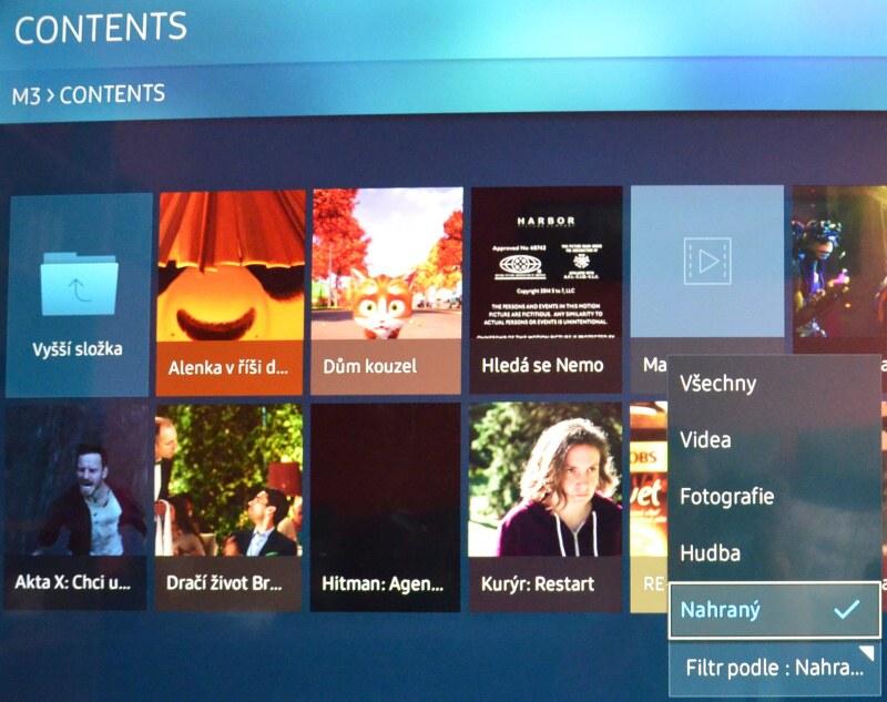 Jak smazat nahrané pořady v televizi Samsung 4
