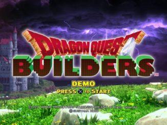 dragon quest builders ps4 demo
