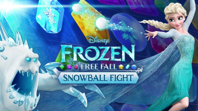 frozen free fall snowball fight