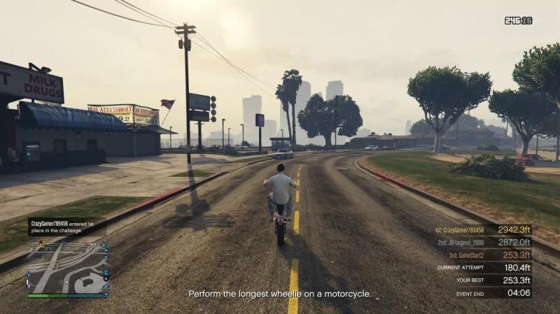 gta online motorka