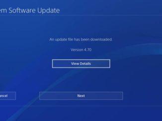 ps4 update 4.70