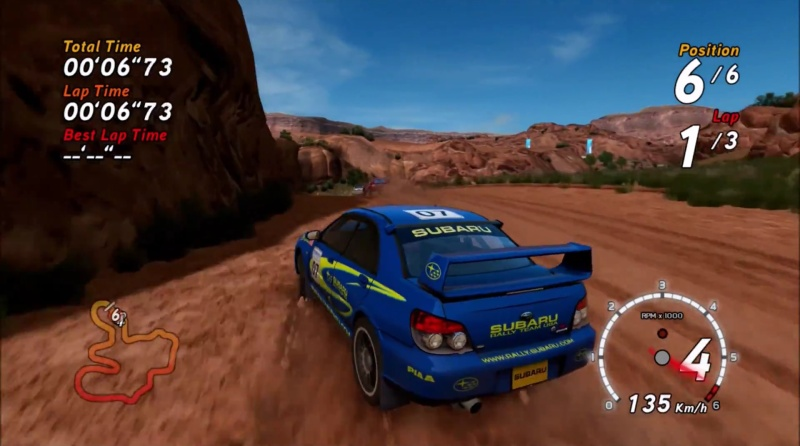 sega rally xbox360 demo