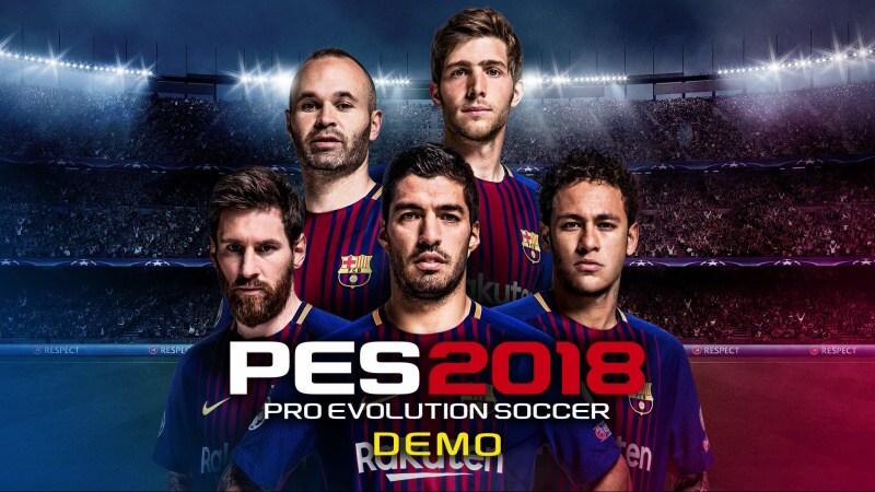 pes 2018 ps4 demo