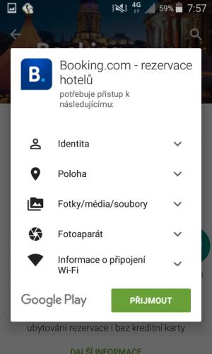 booking aplikace rezervace ubytování 02