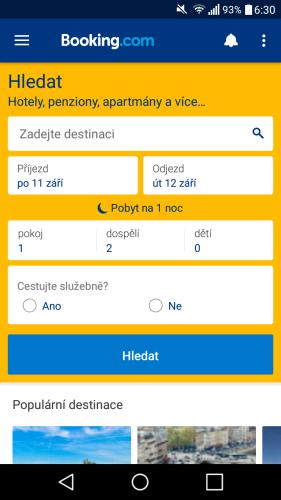 booking aplikace rezervace ubytování 08