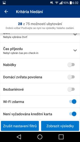 booking aplikace rezervace ubytování 11