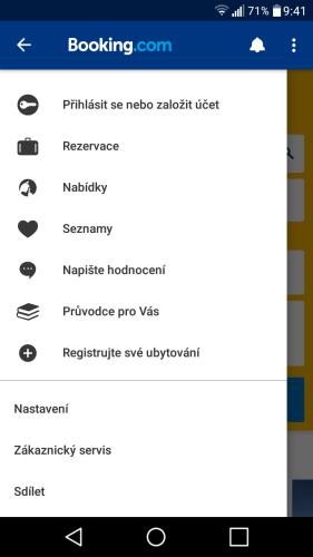 booking aplikace rezervace ubytování 13