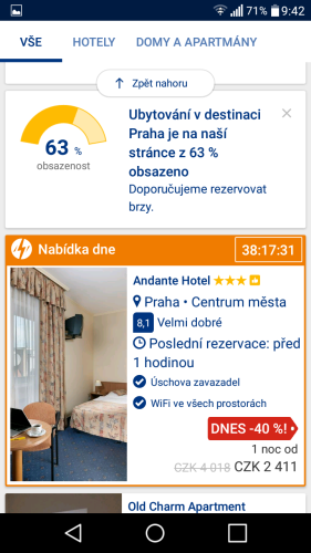 booking aplikace rezervace ubytování 15