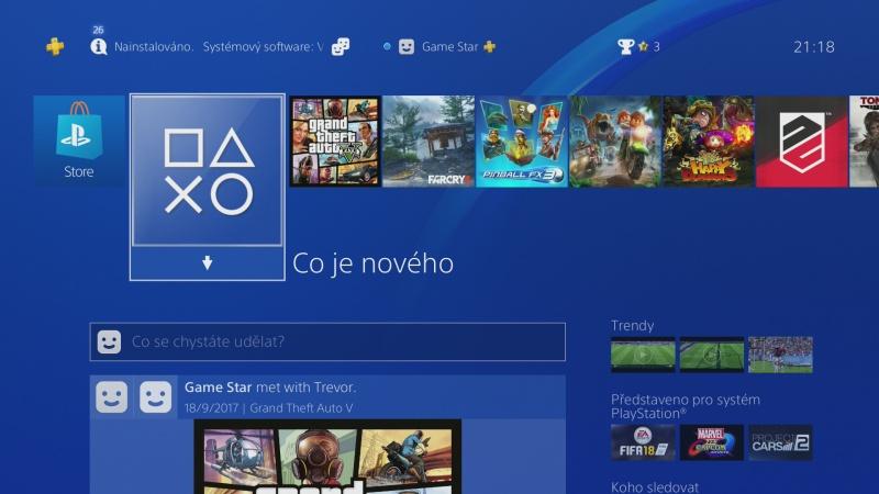 čeština do ps4 nastavení Playstation 4 česky 05