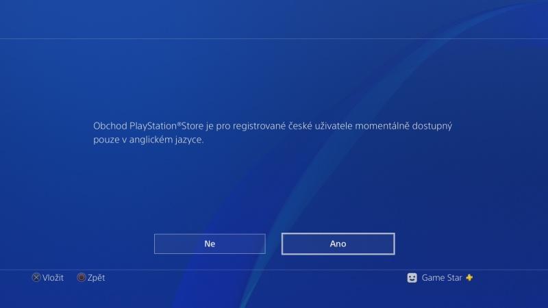 čeština do ps4 nastavení Playstation 4 česky 07