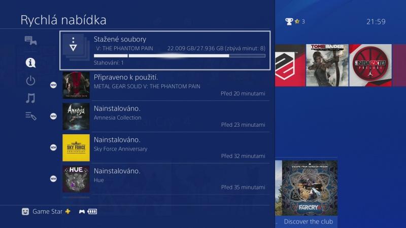 čeština do ps4 nastavení Playstation 4 česky 13