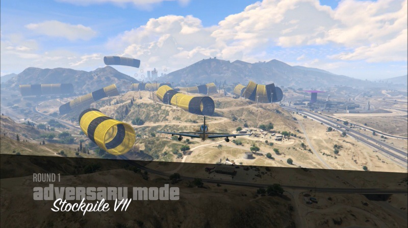 GTA Online: Adversary mode: Stockpile VII PS4
