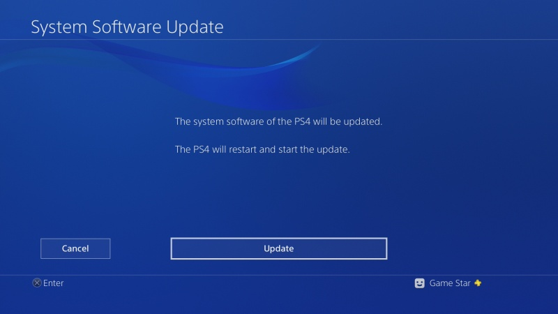 ps4 system software update 5.0 07