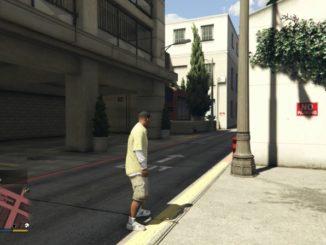 GTA 5 PS4 cheat Zvýšení / snížení hledanosti policií