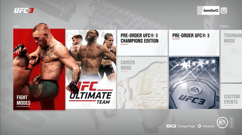 EA Sports UFC 3 PS4 beta