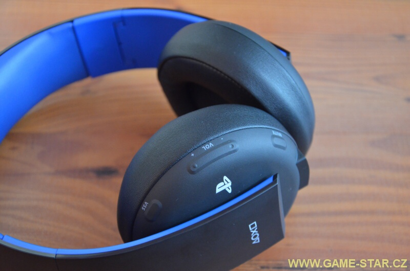 Herní sluchátka ps4 sony playstation wireless stereo headset 2.0 06