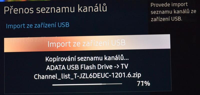 Jak seřadit programy na televizi Samsung 13