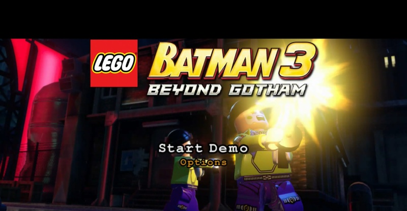 LEGO Batman 3: Beyond Gotham PS4 demo
