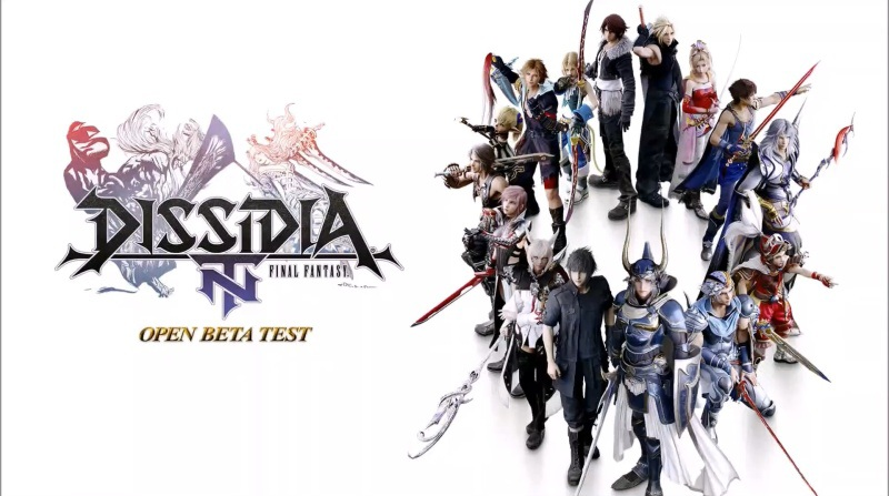 Dissidia Final Fantasy Open beta test PS4
